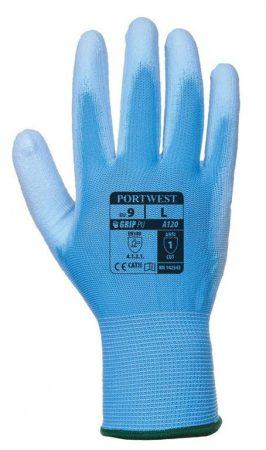 A120B4RXS   Nylon kesztyű PU tenyérmártott  nylon, PU  kék    XS-2XL  (PW)