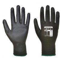 A120BKRXS   Nylon kesztyű PU tenyérmártott  nylon, PU  fekete    XS-2XL  (PW)