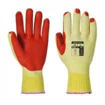 A135Y1RL   Tough Grip kesztyű  Polipamut (pamut és műszál keveréke), Latex (gumitej, kaucsuktej)  sárga/narancs    L-2XL  (PW)