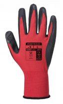 A174R8RS   Flex Grip latex kesztyű  Nylon, Latex  piros / fekete    S-2XL  (PW)