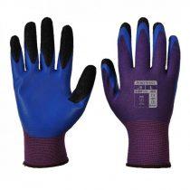 A175U4RM   Duo-Flex kesztyű  Poliészter, Latex (gumitej, kaucsuktej)  lila/kék    M-XL  (PW)