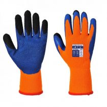 A185O4RM   Duo-Term kesztyű  Poliészter, Latex (gumitej, kaucsuktej)  narancs/kék    M-2XL  (PW)