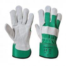A220GNRXL-XXXL    Prémium bőrkesztyű  Marhabőr, kevertszál  zöld    L-XXXL  (PW)