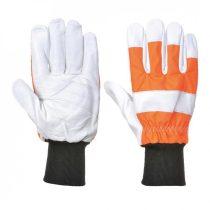 A290ORRL-XL    Oak vágásbiztos kesztyű (Class 0)  60% színmarhabőr, 25% poliészter, 10% polietilén, 5% elastic  narancs   L-XL  (PW)