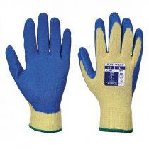 A610YBLM-XXL    Kevlar® tenyérmártott latex kesztyű, Cut 3  Kevlar®, Latex  sárga / kék   M-XXL  (PW)