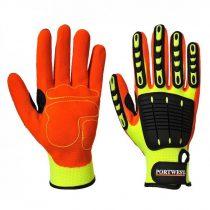 A721Y1RS-XXXL    Anti Impact védőkesztyű  Polyester, Nitrilhab, PVC, Velcro  sárga    S-XXXL  (PW)