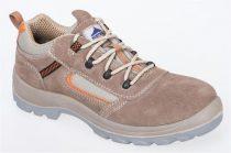 FC52BER38-47   Compositelite™ Reno védőcipő, S1P  Velúr marhabőr, PU/PU talp (kétrétegű, csúszásbiztos poliuretán talp)  bézs    38-47  (PW)