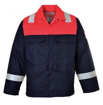 FR55NARXXXL    Antisztatikus kéttónusú kabát  BIZFLAME™ plus 350g  tengerészkék    3XL  (PW)