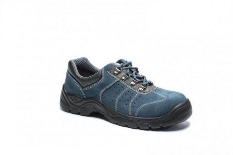 FW02BLU46   Steelite szellőző félcipő S1P  Marhabőr  kék    46  (PW)