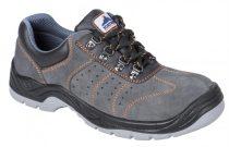 FW02GRR36-48   Steelite szellőző félcipő S1P  Marhabőr  szürke    36-48  (PW)
