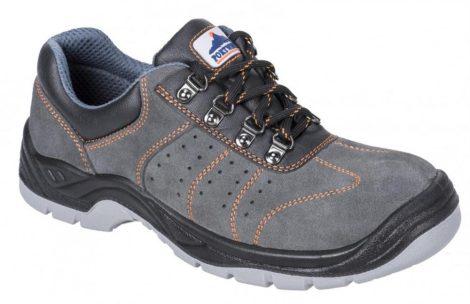 FW02GRR41   Steelite szellőző félcipő S1P  Marhabőr  szürke    41  (PW)