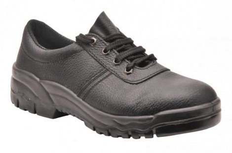 FW14BKR35-52   Steelite félcipő, S1P  hasított marhabőr bőr  fekete    35-52  (PW)