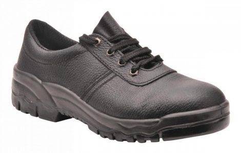 FW19BKR38   Kapli nélküli munkacipő O1  Marhabőr  fekete    38  (PW)