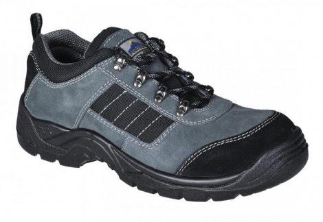 FW64BKR45   Steelite Trekker védőcipő, S1P  Szarvasbőr  fekete    45  (PW)