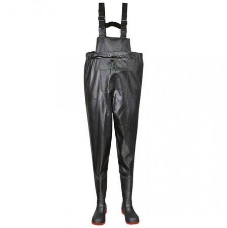 FW74BKR42   Steelite biztonsági melles csizma, S5  PVC/Nitril  fekete    42  (PW)