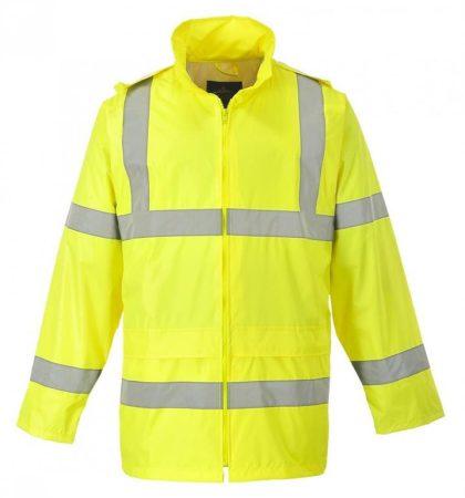 H440YERS    Jól láthatósági esődzseki  100% poliészter  sárga    S  (PW)