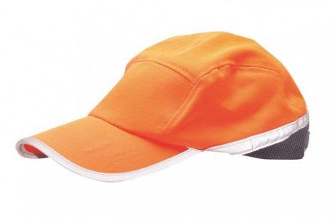 HB10ONR    Jól láthatósági baseball sapka  65% poliészter, 35% pamut  narancs / tengerész    -  (PW)