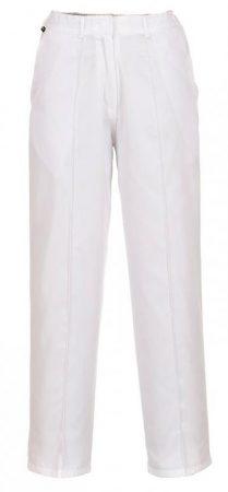 LW97WHRXS   Női gumírozott nadrág  Kingsmill 210g  fehér    XS-2XL  (PW)