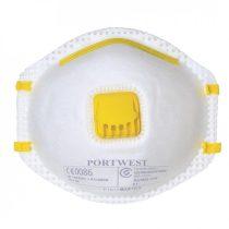 P101WHR   FFP1 szelepes porálarc (10 db)  -  fehér    -  (PW)