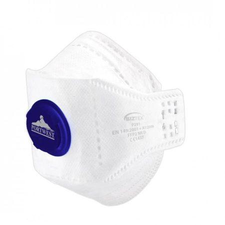P291WHR   Eagle FFP2 Respirator   (10 db)  BIZTEX (polipropilén szubsztrátum, mikropórusos polyethene film (PP/PE))  fehér    -  (PW)