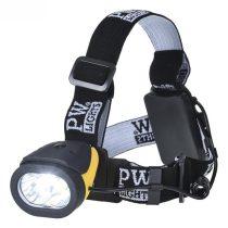 PA63YBR   Portwest Dual Power fejlámpa  Akrilnitril butadién sztirol (ABS), Poliészter  sárga / fekete    -  (PW)