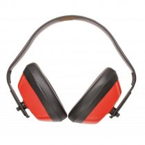 PW40RER   Hagyományos fülvédő  Hangelnyelő csésze & PVC párnák  piros    -  (PW)