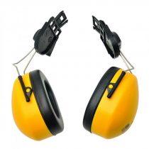 PW42YER   Sisakra szerelhető fültok  nagy erősségű polisztirol csésze & PVC párnák  sárga    -  (PW)