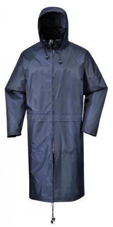 S438NARXXL   Klasszikus esőköpeny 100 % poliészter orkán, PVC bevonat, 210 g  tengerészkék   XXL  (PW)