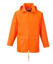 S440ORRS-XXXL   Klasszik esődzseki  100% poliészter PVC bevont (150g)  narancs    S-XXXL  (PW)
