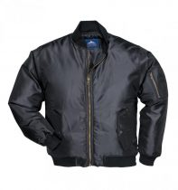 S535BKRS-4XL   Pilóta kabát  100% nylon, Oxford szövés, PA bevont (115g)  fekete    S-4XL  (PW)