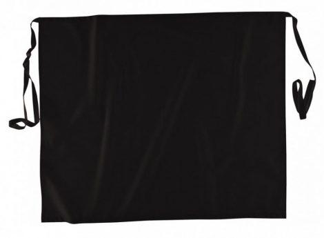 S837BKR   Séf kötény  100% pamut  fekete    -  (PW)