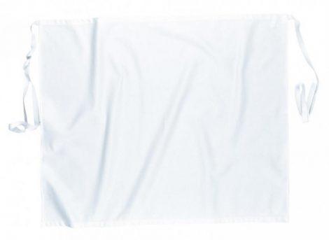 S837WHR   Séf kötény  100% pamut  fehér    -  (PW)