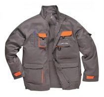 TX10GRRXS-3XL   Texo kétszínű kabát  60% pamut, 40% poliészter  szürke    XS-3XL  (PW)