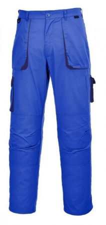 TX11RBTM-2XL   Texo kétszínű nadrág  60% pamut, 40% poliészter  royal kék    M-2XL  (PW)