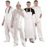 Food fehér vízhatlan ruházat