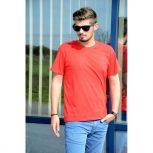 KEYA férfi kereknyakú póló színes 180 g/m²